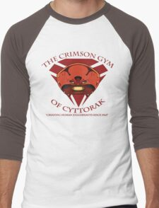 The Crimson Gym of Cyttorak Men's Baseball ¾ T-Shirt