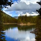 Bear Lake Under Cloudy Skies by Fletcher Hill