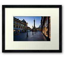 Grey Street - Newcastle Framed Print