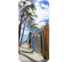 Surf and Sun Waikiki iPhone Case/Skin