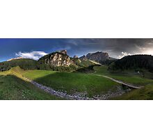 Panoramic Mountains Photographic Print