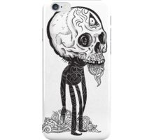 THE MAN IN BLACK iPhone Case/Skin