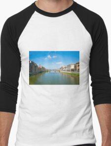 River Arno Men's Baseball ¾ T-Shirt