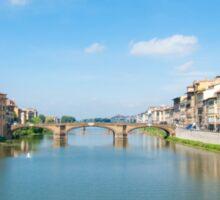 River Arno Sticker
