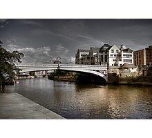 Bridge over River Ouse Photographic Print