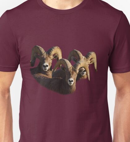 A Group of Rams Unisex T-Shirt