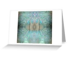 IcyGold - Version 4 Greeting Card