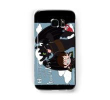 HICCUP & TOOTHLESS Samsung Galaxy Case/Skin