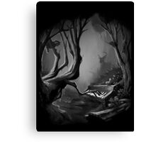 Piano Tree Canvas Print