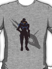 Garrus Vakarian - Sunset Shores T-Shirt