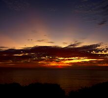 Sunset Over the Santa Monica Mountains by Ron LaFond