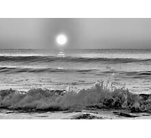 We Danced Like A Wave On The Ocean B&W Photographic Print