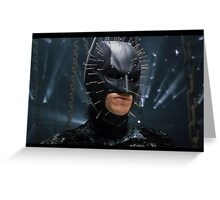 Hellraiser - It's Better With Batman Greeting Card