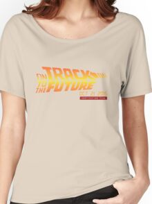Back To The Future Day - October 21, 2015 , Are you on Track ? Women's Relaxed Fit T-Shirt