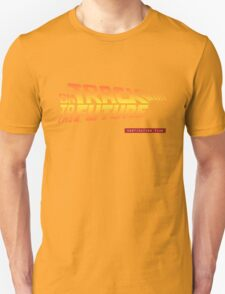 Back To The Future Day - October 21, 2015 , Are you on Track ? T-Shirt