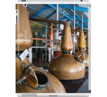 Whisky distillery stills iPad Case/Skin