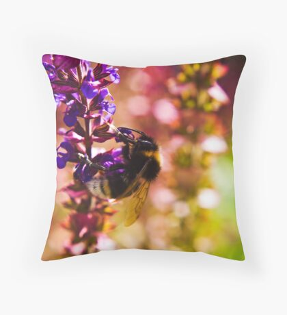 Just Another Day at the Office Throw Pillow