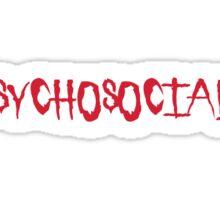 Slipknot Psychosocial Sticker