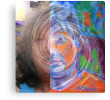 Me Morphed  Canvas Print