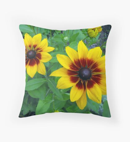 Dressed in pretty colors Throw Pillow