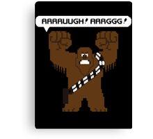 Rrrruugh! Arrggg! (Chewbacca) Canvas Print