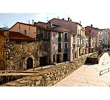 Buildings in Collioure 2 Photographic Print
