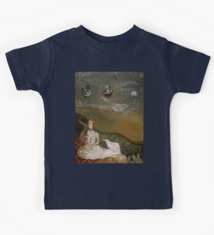 Kitten Girl Kids Tee