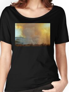 The Fire Rises Women's Relaxed Fit T-Shirt
