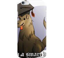 The Smart Dog iPhone Case/Skin