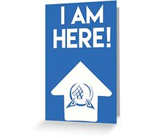 I Am Here Collection - Epcot Greeting Card
