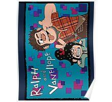 RALPH & VANELLOPE Poster