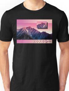 Pink Mountains Unisex T-Shirt
