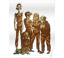 Arkham Nerd Squad (transparent) Poster