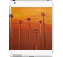 Flame Flowers iPad Case/Skin