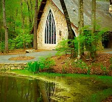 Chapel in the woods by xPressiveImages