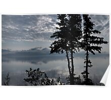 Blue Series - Kluane Lake 2 Poster