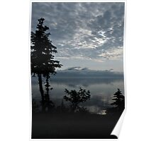 Blue Series - Kluane Lake 1 Poster