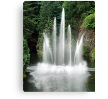 The Ross Fountain Canvas Print