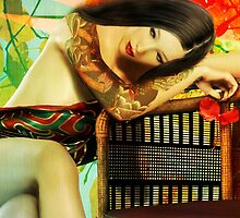 Empty Chair Maiko by Shanina Conway
