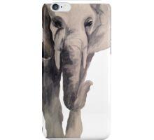 Watercolor Elephant (II) iPhone Case/Skin