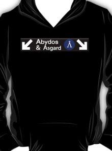 Stargate Subway - Abydos & Asgard T-Shirt