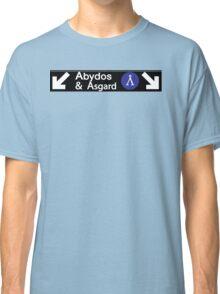 Stargate Subway - Abydos & Asgard Classic T-Shirt