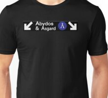 Stargate Subway - Abydos & Asgard Unisex T-Shirt