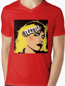 Blondie Mens V-Neck T-Shirt
