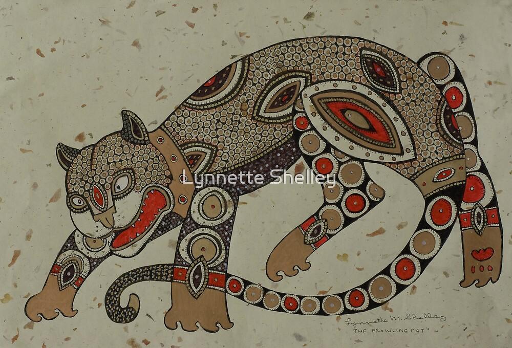 Prowling Cat by Lynnette Shelley
