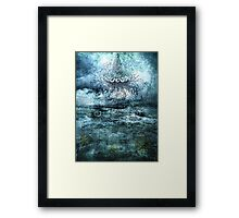TALE FROM THE SEA Framed Print