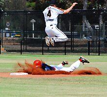 Claxton Shield Baseball, SA v WA 2009 by Sue Wells