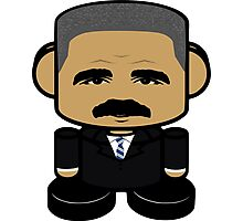 Eric Holder Politico'bot Toy Robot 1.0 Photographic Print