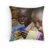 New Books to Read Throw Pillow