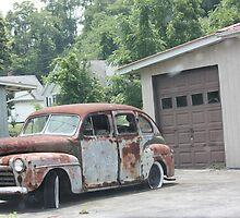Rusty Car by Cathy Cale